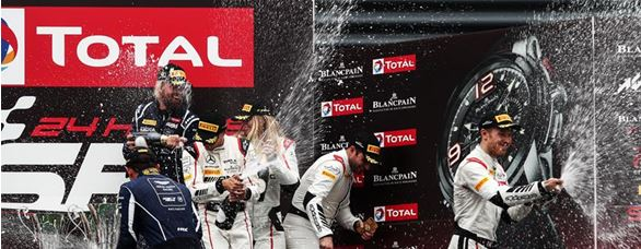 Podium Joy for Strakka Racing at the Spa 24 Hours