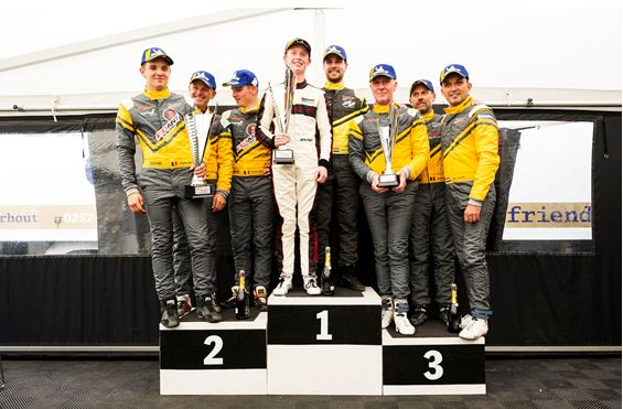 Thems Racing wins its first race of the season at Spa