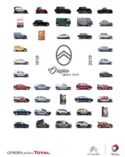 TOTAL congratulates longtime partner Citroën on its centennial