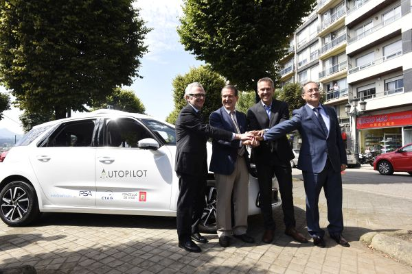 CTAG, Groupe PSA and the Spanish city of Vigo test vehicle-to-infrastructure communications