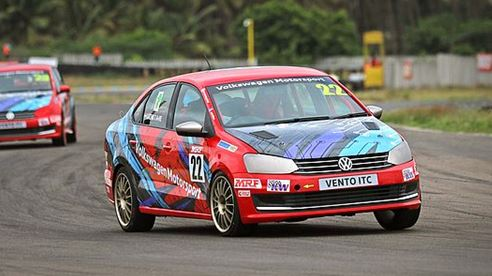 Indian Touring Car Championship- Two podiums for Volkswagen Vento drivers in Chennai