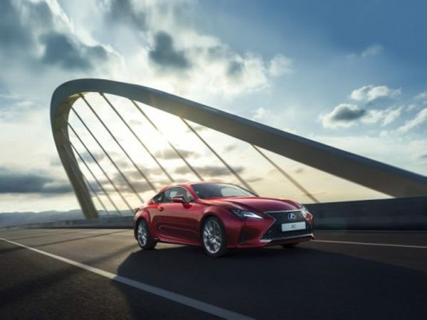 Lexus RC tops Russia's Car of the Year Award 2019 in coupe category