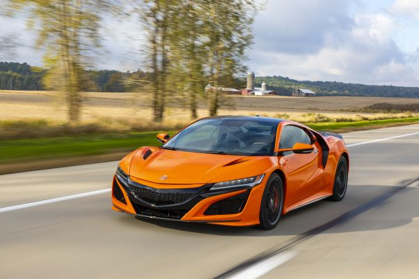 Acura NSX Named a Best Performing Car by The Car Connection for 2019
