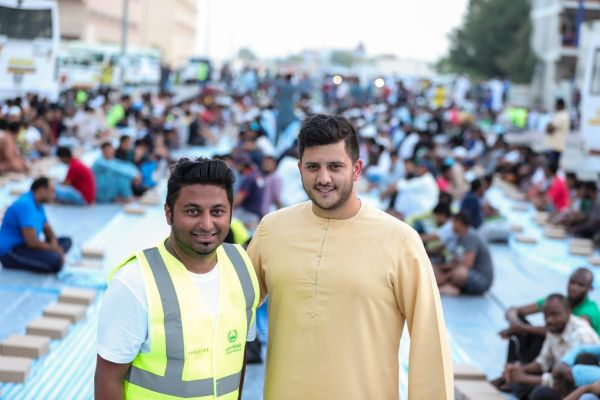 Iftar dinners served to 10,000 labourers to mark Laylatul-Qadr