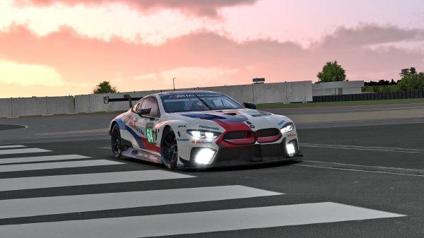 Virtual Le Mans dress rehearsal: the BMW M8 GTE