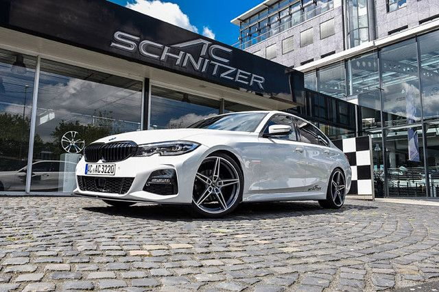 The first AC Schnitzer parts for the new 3 series BMW are almost finished