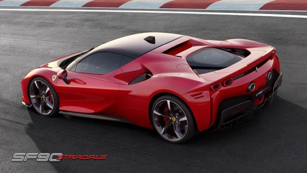 The Ferrari SF90 Stradale - the new series-production supercar