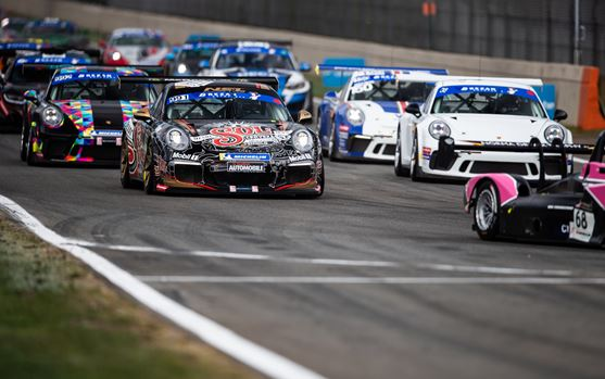 A lively start to the Porsche Endurance Trophy at Zolder!
