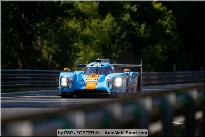 Spirited effort at 24h of Le Mans ends during the night for FAI