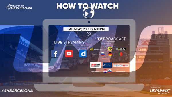 4 Hours Barcelona - How to follow, TV, livestream