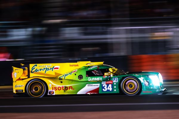 Inter Europol - We took the chequered flag in the 24 Hours of Le Mans