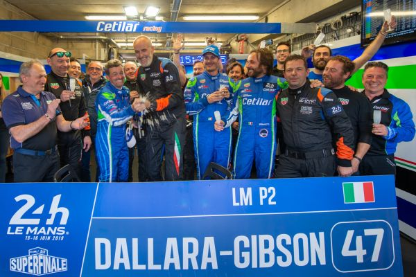 Cetilar Racing nears top-10 finish at the 24h of Le Mans