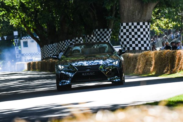 Lexus unveils LC Convertible Protoype at Goodwood Festival of Speed