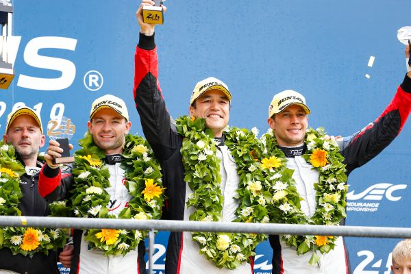 TDS Racing on the podium of the 24 Hours of Le Mans