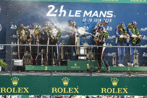 Dramatic one-two victory for Toyota Gazoo Racing in Le Mans