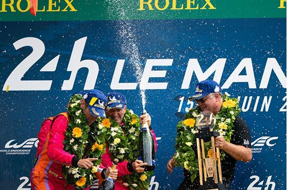 Wynn's Victorious with No. 85 Keating Motorsports Ford GT Team in 87th Running of the 24 Hours of Le Mans