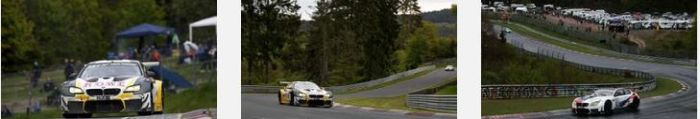 Six BMW M6 GT3s and competitive drivers want to record top results in the 'Green Hell'.