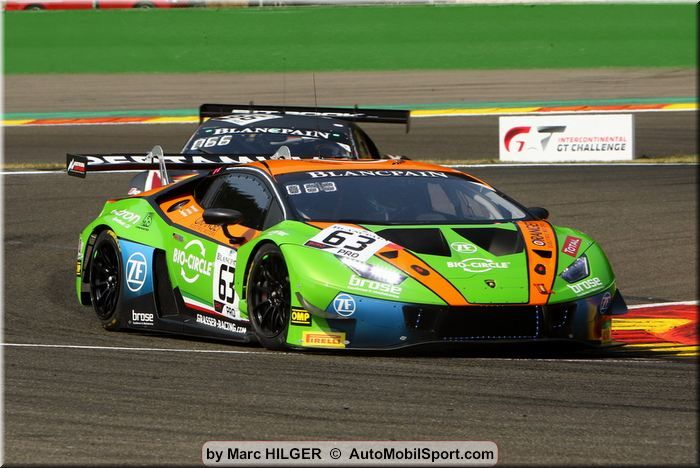 GRT Grasser Racing are brilliant at mastering tricky 24 Hours of Spa-Francorchamps