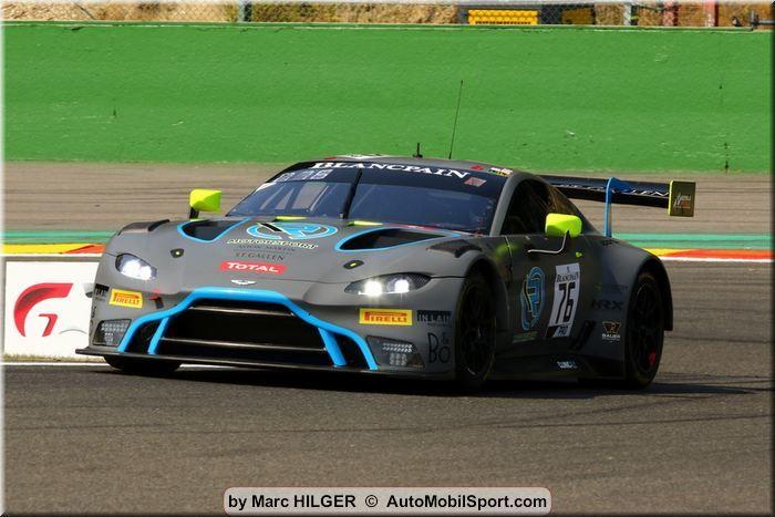 Starting Row Seven In Spa For R Motorsport S Aston Martin Vantage Gt3 Automobilsport Com