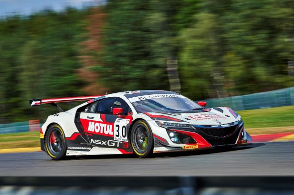 Honda Team Motul prepare for 24 hours of SPA assault with NSX GT3 EVO