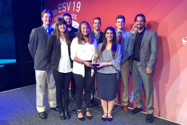 Students win international vehicle safety design competition