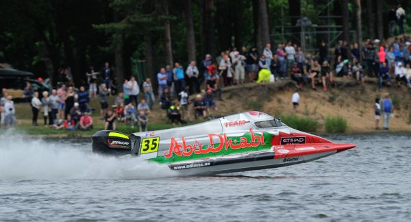 Team Abu Dhabi's Rashed Al Qemzi wins Lithuania Grand-Prix