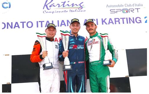 Palomba great protagonist of KZ2 at the Italian Championship in Sarno