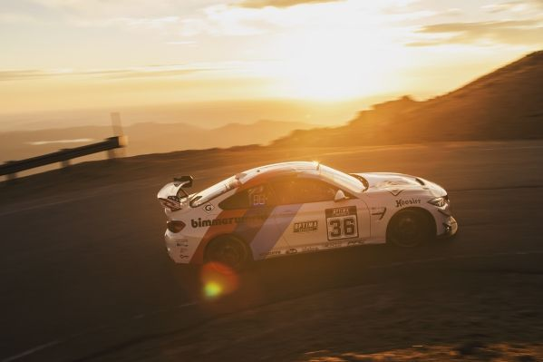 Pikes Peak: BimmerWorld Racing lines up with the BMW M4 GT4.