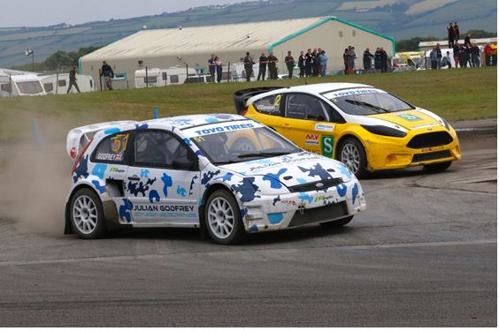 Godfrey and Tohill claim British RX spoils at Pembrey double-header