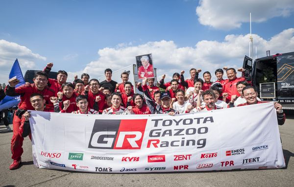 Toyota GR Supra finishes in 41st place overall, and LEXUS LC in 54th place