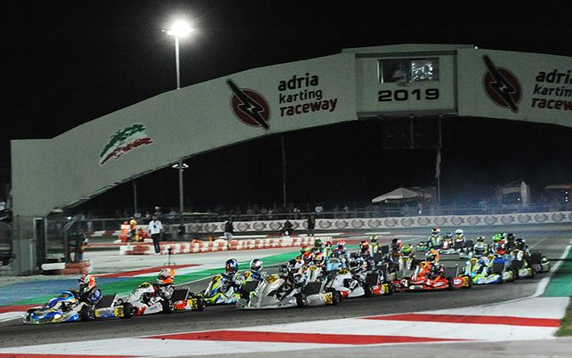 WSK Euro Series lived a night for top drivers in Adria.