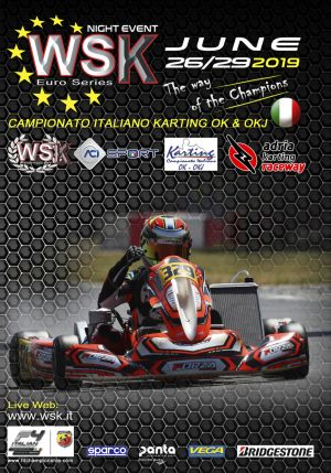 WSK Euro Series final round in Adria, Italy