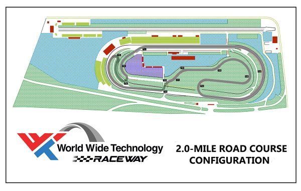 World Wide Technology Raceway unveils enlargement of road course
