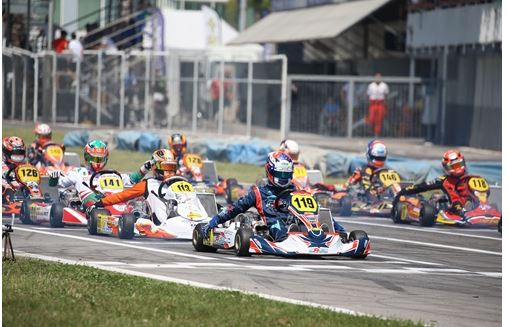 Classifications of the Italian ACI Karting Championship before the fourth round in Adria