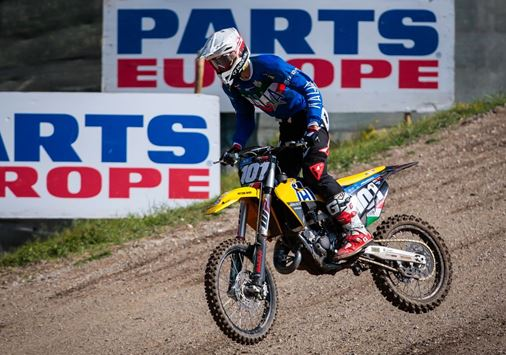 Day 1 of the FIM Junior World Championship in Pietramurata, Italy