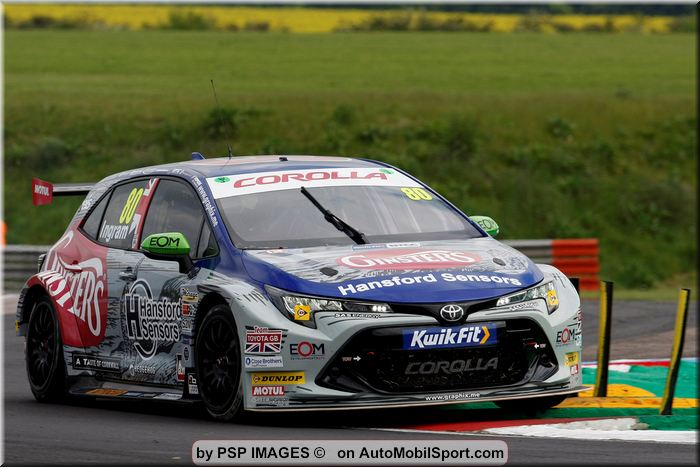 Tom Ingram eager to lead front wheel-drive charge again at Croft