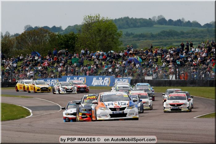 BTCC Thruxton video