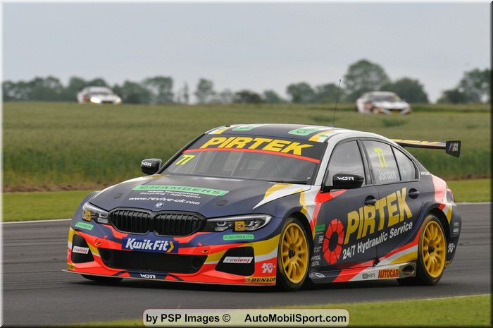 Andrew Jordan and Pirtek Racing keen to maintain strong form at Oulton Park