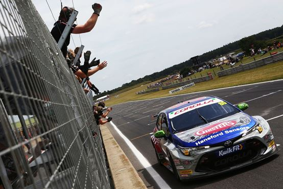 Tom Ingram kick-starts second half of campaign on top step of the podium