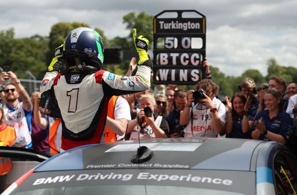 50 not out for Team BMW's Colin Turkington