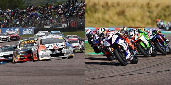 Stars of two wheels and four Hampshire-bound for Thruxton's spectacular summer of motorsport