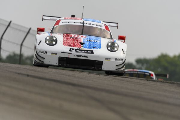 Porsche 911 RSR starts from second grid row in Canada