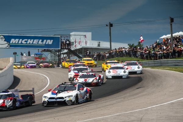 BMW Team RLL finished second and fourth in the GTLM class