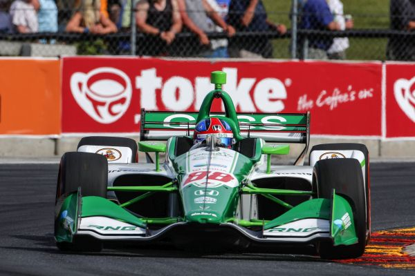 Herta, Rossi Sweep Front Row for Honda in Road America Qualifying