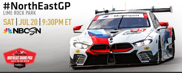 Northeast Grand-Prix IMSA Lime Rock Park, tune in