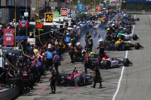 Honda Indy 200 at Mid-Ohio race classification