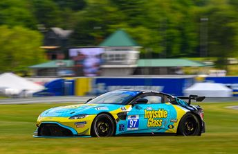 Clean Start to Lime Rock Park weekend for Invisible Glass Aston Martin