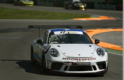 Moorespeed IMSA Porsche Cup Drivers Riley Dickinson and Rob Ferriol Carry Momentum Into Watkins Glen