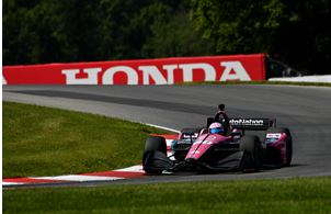 Meyer Shank Racing Ninth on the Mid-Ohio Grid