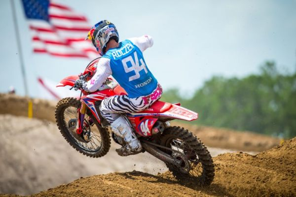 Ken Roczen Salvages Sixth-Place Finish at Sweltering Florida National